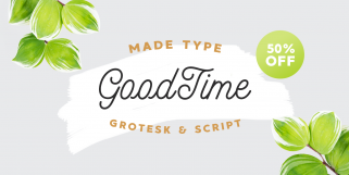 MADE GoodTime (MadeType)