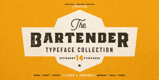 The Bartender (Vintage Voyage Design)