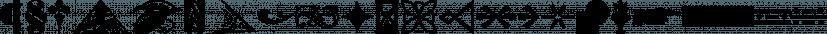 Print Marks JNL font family by Jeff Levine Fonts