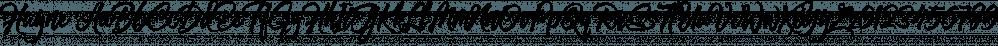 Hayne font family by Majestype