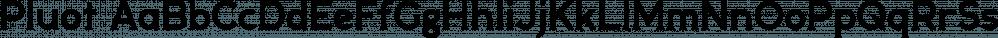 Pluot font family by Bunny Dojo