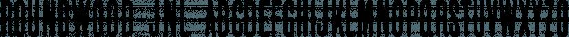 Roundwood JNL font family by Jeff Levine Fonts