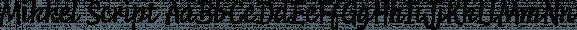 Mikkel Script font family by TypeMates