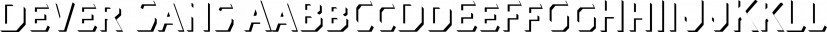 Dever Sans font family by Insigne Design