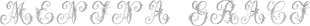 Menina Graciosa font family mini
