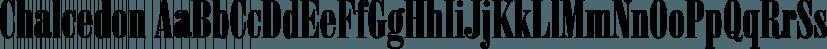 Chalcedon font family by FontSite Inc.