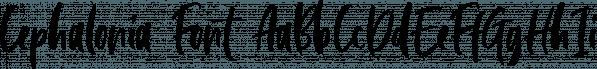 Cephalonia font family by Letterhend Studio