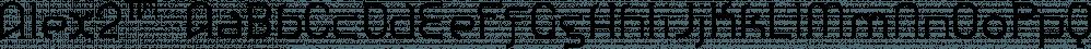 Alex2™ font family by MINDCANDY