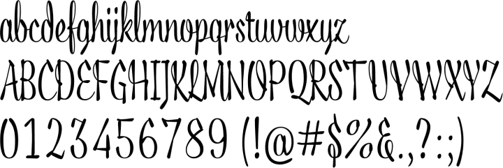 Acid Font Specimen