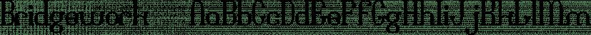 Bridgework™ font family by MINDCANDY