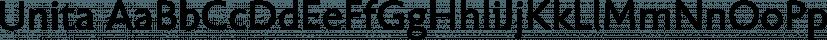 Unita font family by Wiescher-Design