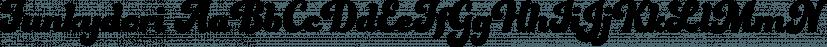 Funkydori font family by Laura Worthington