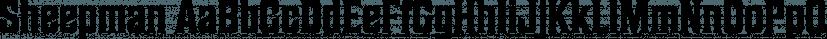 Sheepman font family by Dharma Type