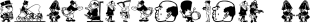 BradleyDingies font family mini