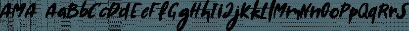 AMA font family by Konstantina Louka