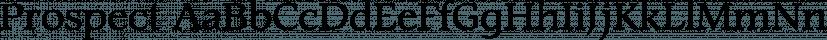 Prospect font family by ParaType