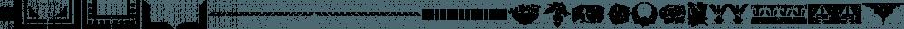 Stencil Decor JNL font family by Jeff Levine Fonts