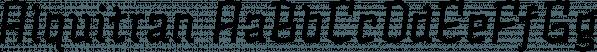 Alquitran font family by Rodrigo Typo