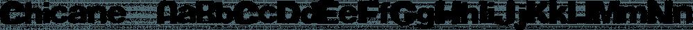 Chicane™ font family by MINDCANDY