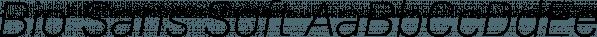 Bio Sans Soft font family by Dharma Type