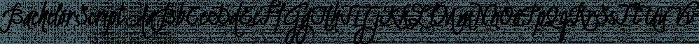 BachelorScript font family by Fontforecast