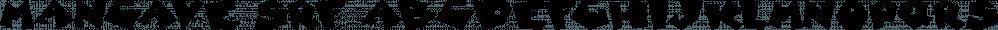 Mancave SRF font family by Stella Roberts Fonts