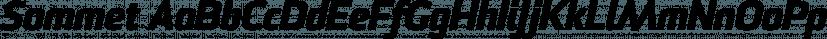 Sommet font family by Insigne Design