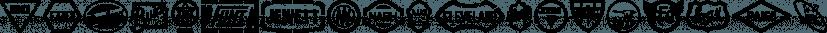 Tin Lizzie JNL font family by Jeff Levine Fonts