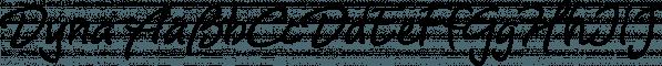 Dyna Pro font family by Anatoletype