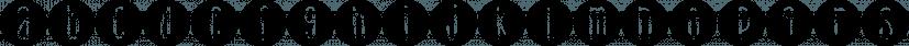 DJB Lemon Head Dots font family by Darcy Baldwin Fonts