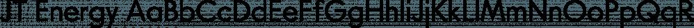 JT Energy font family by OGJ Type Design