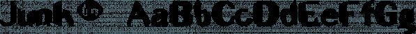 Junk™ font family by MINDCANDY