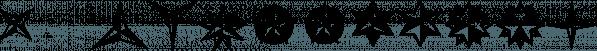 XStarsAndStripes font family by Ingrimayne Type