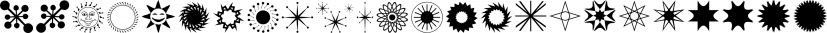 Austrual SRF font family by Stella Roberts Fonts