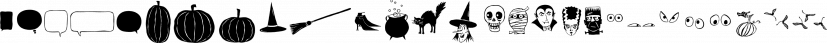 Eeeek Images font family by Atlantic Fonts
