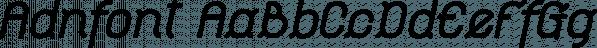 Adnfont™ font family by MINDCANDY