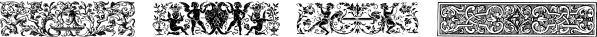 GansHeadpieces font family by Intellecta Design