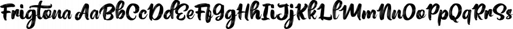 Frigtona font family by feydesign