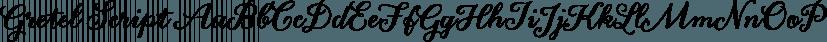 Gretel Script font family by Typejockeys