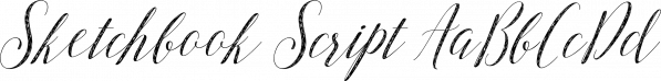 Sketchbook Script font family by Anastasia Dimitriadi