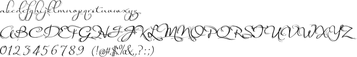 Arabesque Font Specimen
