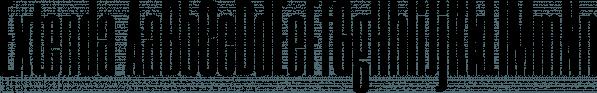 Extenda font family by Zetafonts