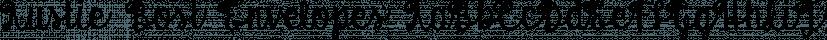 Austie Bost Envelopes font family by Austie Bost Fonts