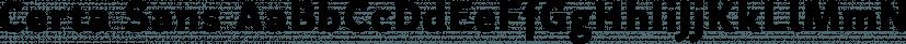 Certa Sans font family by Glen Jan