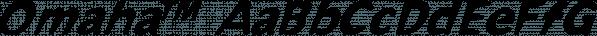 Omaha™ font family by MINDCANDY