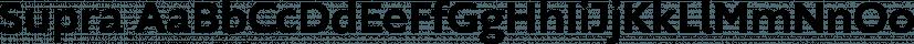 Supra font family by Wiescher-Design