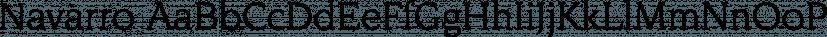 Navarro font family by FontSite Inc.
