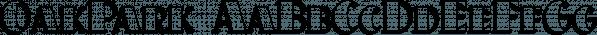 OakPark font family by Ingrimayne Type