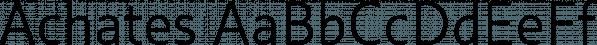 Achates font family by Karandash