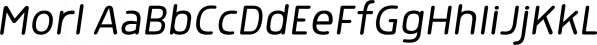Morl font family by Typesketchbook